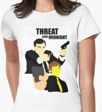 The Office - Threat Level Midnight Women's Fitted T-Shirt