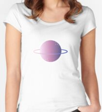 Planet Women's Fitted Scoop T-Shirt