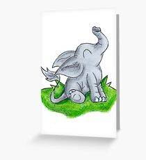 Trunk Time Greeting Card