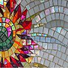 Starflower Mosaic, turned version - JUSTART © by JUSTART
