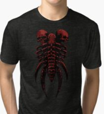 Necromancer Shield Red Tri-blend T-Shirt