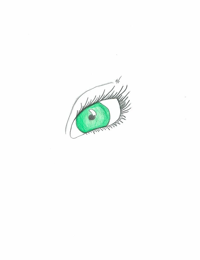 Emerald Eye by RachelsWorld09