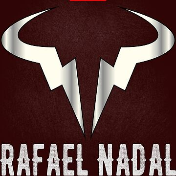 Rafale Nadal Tshirt Tennis Spain by Shirtfashion