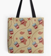 'X' Marks the Strawberry Jam Tote Bag