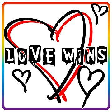 Love Wins by Rte73DesignPrt