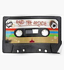 Raid the Arcade Poster