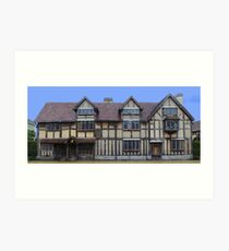 WIlliam Shakespeare's Birthplace Art Print