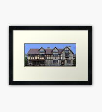 WIlliam Shakespeare's Birthplace Framed Print