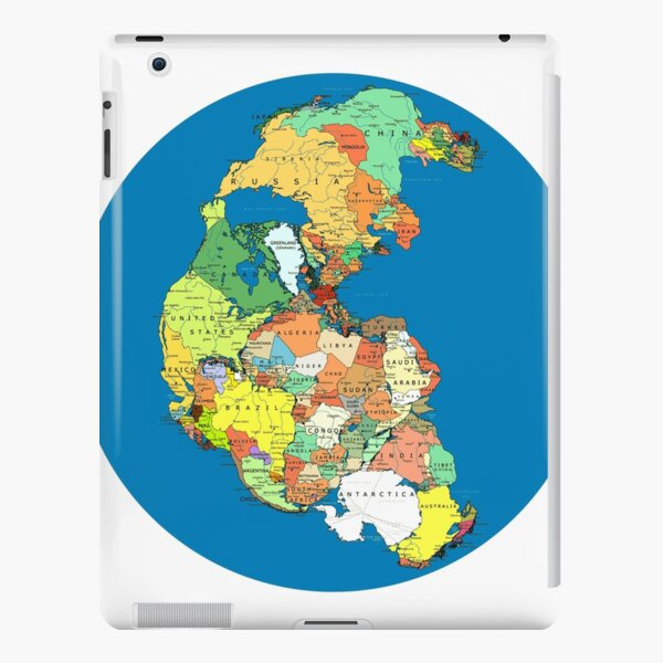 Pangea Political World Map iPad Snap Case