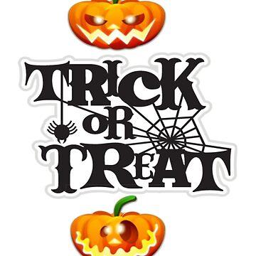 trick ou treat t-shirt by esmerald0