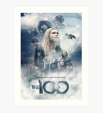 The 100 Season 5  Art Print