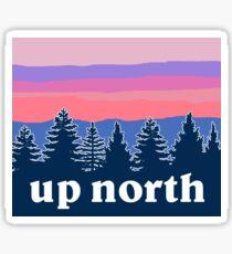 Pegatina en el norte