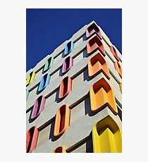 Colorful House  Photographic Print