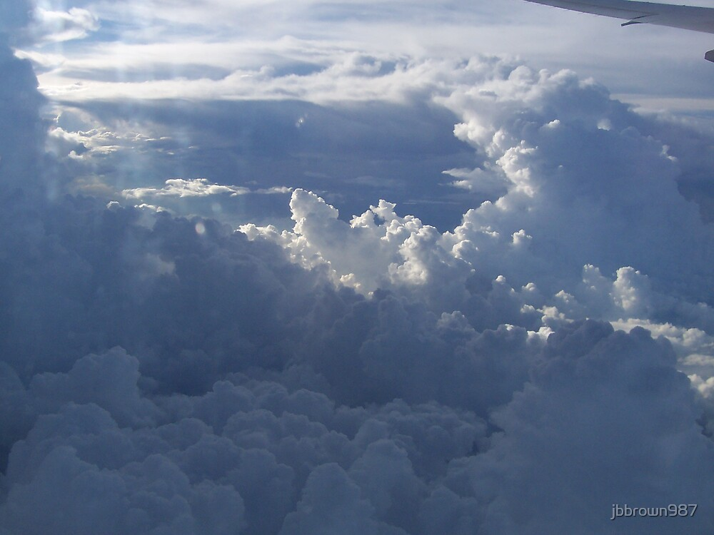 Cool Cloud Formation by jbbrown987