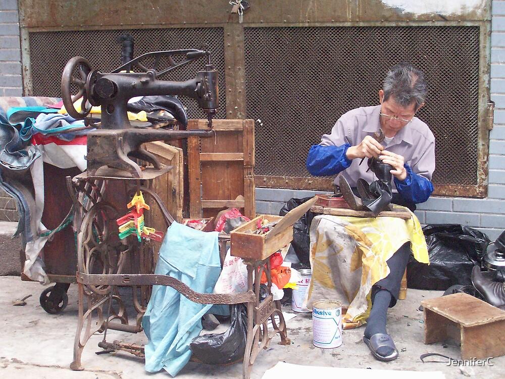 Street Shoemaker by JenniferC