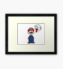 Super Peanuts Bros. Framed Print