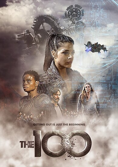 Quot The 100 Season 5 Bunkerkru Version Quot Posters By