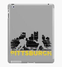 Pittsburgh Hockey Retro iPad Case/Skin