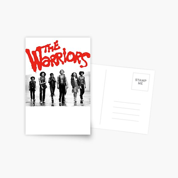 The Warriors Gang   les Guerriers Carte postale
