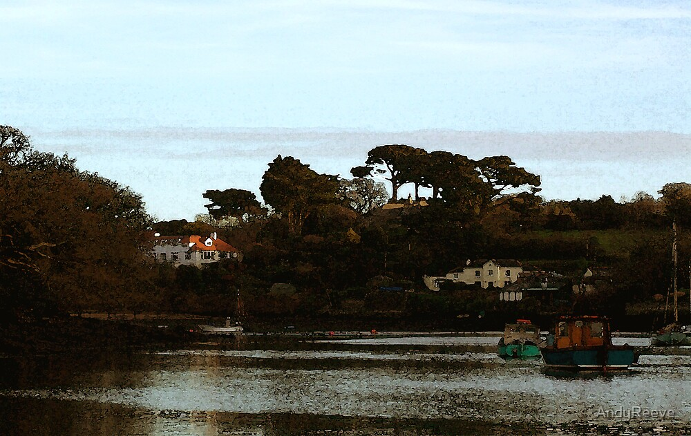 Evening - Mylor Creek. by AndyReeve