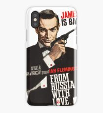 From russia with love James Bond  iPhone Case