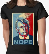 DONALD TRUMP MERCHANDISE Womens Fitted T-Shirt