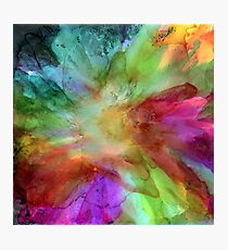Abstract Flower I Photographic Print