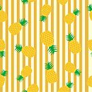 Pineapples and Stripes by IconicTee