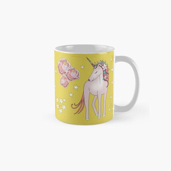 Unicorn and hummingbird  Classic Mug