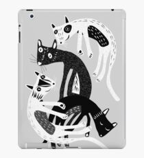 4 cats iPad Case/Skin