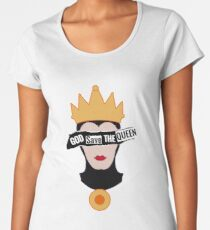 God save the Evil Queen Women's Premium T-Shirt