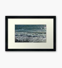 Dreamy shore Framed Print