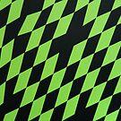 Green Rhombuses by Milica Mijačić