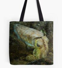 Giant Australian cuttlefish (Sepia apama) - Upper Spencer Gulf, South Australia Tote Bag