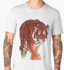 Stalking Tiger Men's Premium T-Shirt