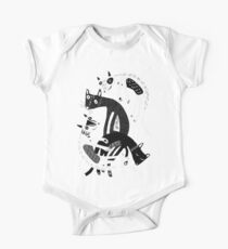 4 cats One Piece - Short Sleeve