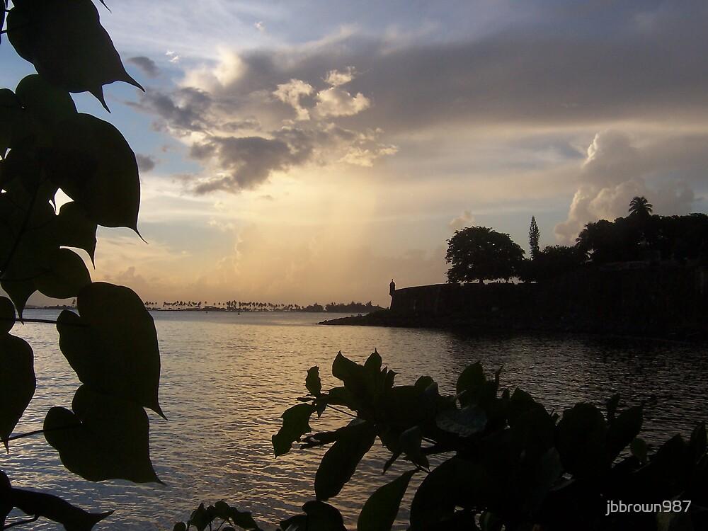 Sunset In Old San Juan, Peurto Rico by jbbrown987