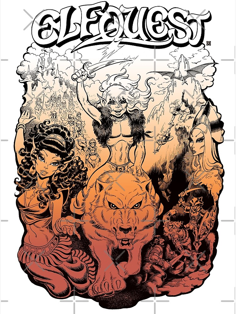 Elfquest, by Wendy and Richard Pini by elfquest