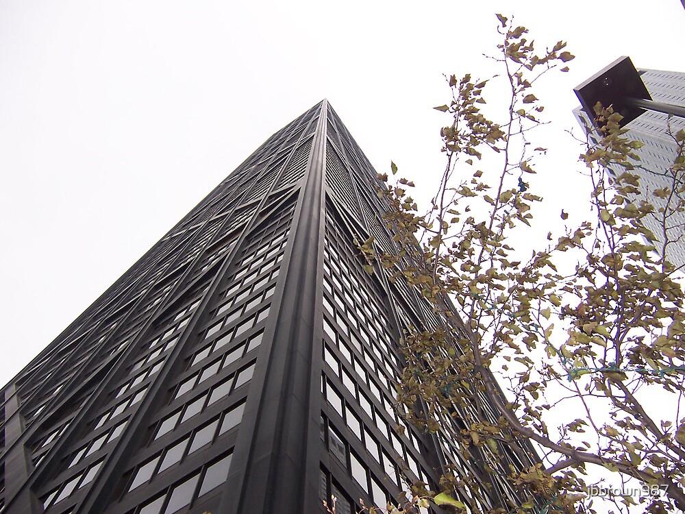 Upward Look At John Hancock Building by jbbrown987