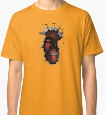 Titan in the Wall Classic T-Shirt