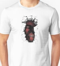 Titan in the Wall Unisex T-Shirt