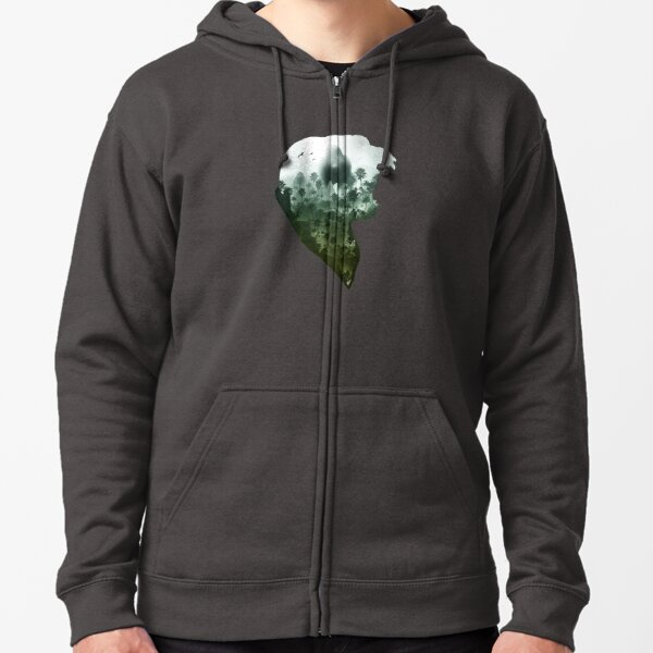 Down with the King Zipped Hoodie