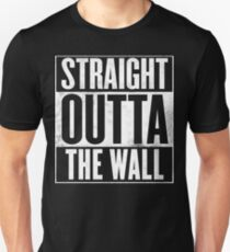 Game of Thrones - Straight Outta The Wall Unisex T-Shirt