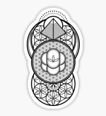 Ultra Sacred Geometry Sticker