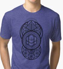 Ultra Sacred Geometry Tri-blend T-Shirt