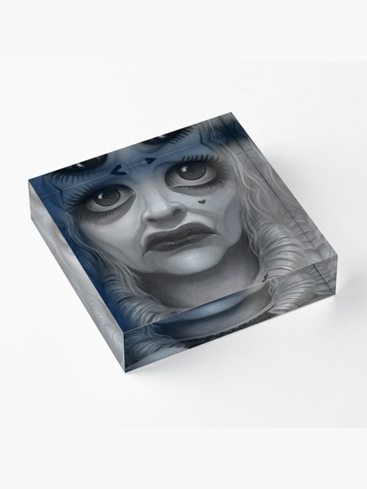 Alternate view of What Ever Happened to Baby Jane? Acrylic Block