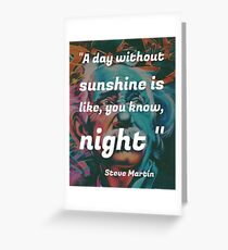 MrQuotes - Funny quote Greeting Card