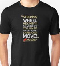 Steering Wheel - #Kimi7  Unisex T-Shirt