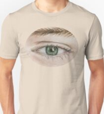 Hand drawn Green Eye by DrawingsbyLAF Unisex T-Shirt