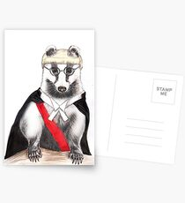 Judge Badger Postcards